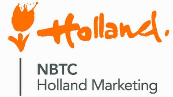 La agencia de turismo de Países Bajos tenía como logotipo el popular tulipán, junto a la palabra