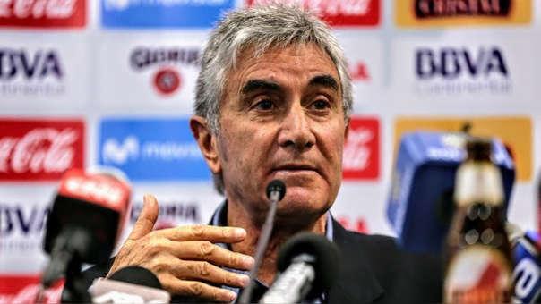 Juan Carlos Oblitas se refirió a la posibilidad de postular a la presidencia de la FPF