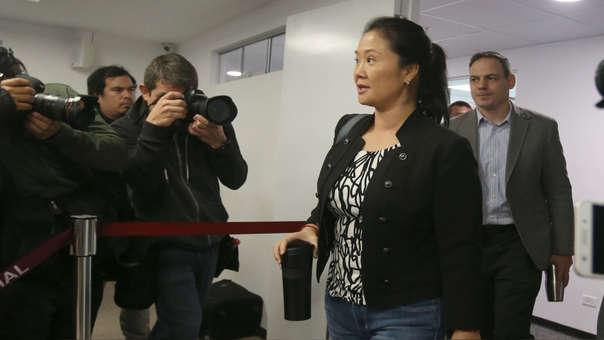 Keiko Fujimori es investigada por presuntamente haber recibido aportes ilícitos para financiar las campañas electorales de Fuerza 2011 y Fuerza Popular.