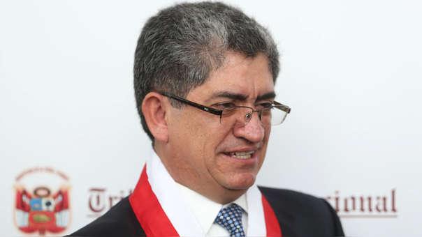 José Luis Sardón, magistrado del Tribunal Constitucional.
