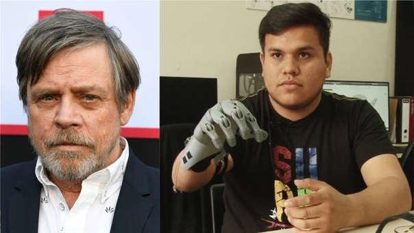 Mark Hamill e ingeniero peruano