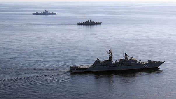 Maniobras conjuntas de Irán, Rusia y China