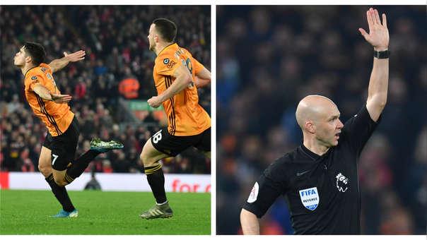 Se impuso el VAR: el polémico gol anulado a Wolverhampton sobre Liverpool por la Premier League