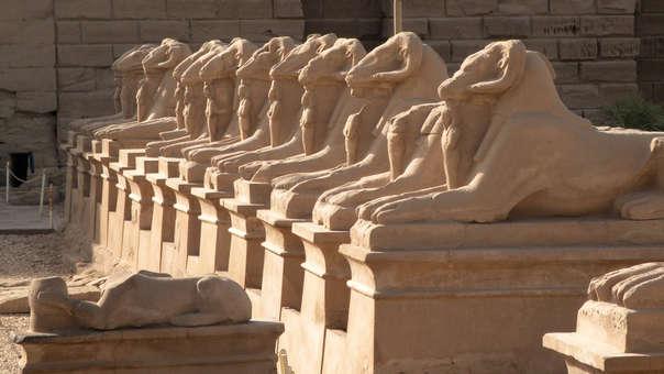 Estatuas egipcias