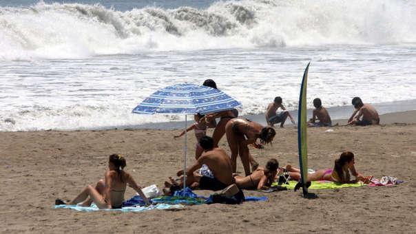 Digesa evalúa a las playas que se encuentran aptas.