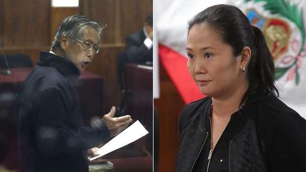 Alberto Fujimori escribió una carta a su hija Keiko.
