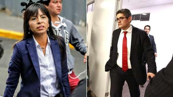 Giulliana Loza criticó la actuación del fiscal Pérez.