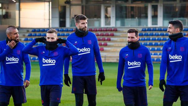 El plantel del Barcelona ya está completo.