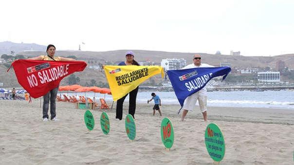 Con estos banderines, ubicados a la entrada de cada playa, podrás saber si esta es saludable o no.