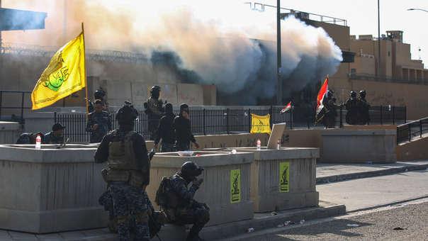 IRAK ESTADOS UNIDOS EMBAJADA