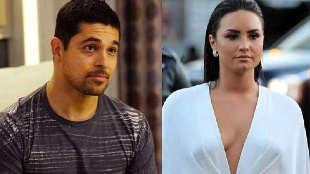 Wilmer Valderrama se comprometió y no fue con Demi Lovato.