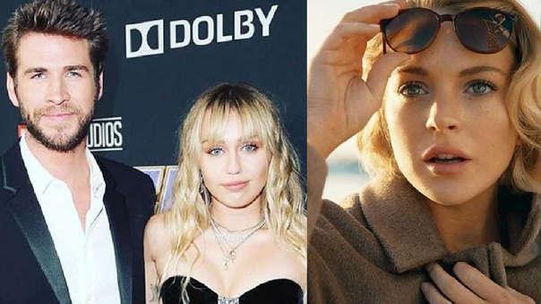 La actriz Lindsay Lohan explicó cuál es la relación que tiene con Liam Hemsworth.