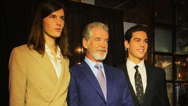 Dylan y Paris son los hijos del actor Pierce Brosnan.