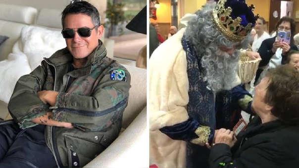 Alejandro Sanz como Rey Mago