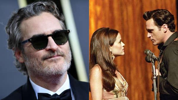 Joaquin Phoenix y Reese Whiterspoon compartieron un inolvidable momento en los Globos de Oro 2020.