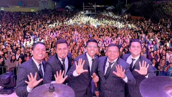 Grupo 5 es la banda de cumbia más escuchada en Spotify.