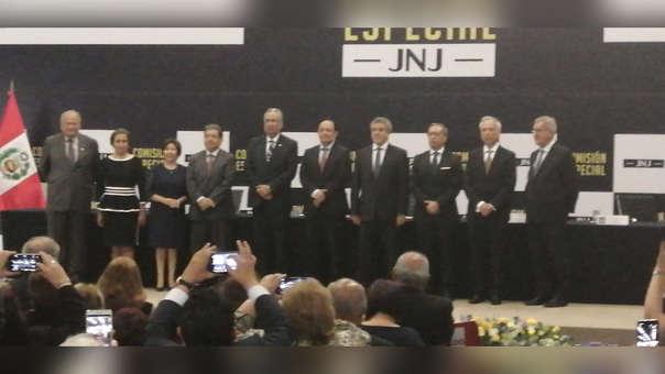 Juramentación de integrantes de la Junta Nacional de Justicia