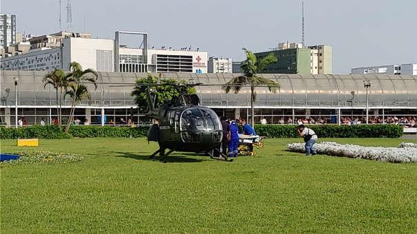 Los heridos del accidente en Arequipa llegaron a emergencias del Hospital Edgardo Rebagliati Martins.