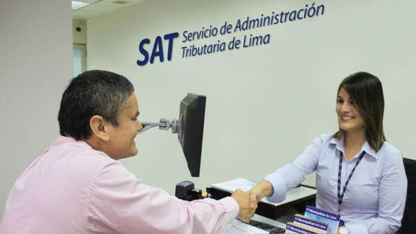 Para mayor información se puede llamar a Aló SAT 315-2400 o consultar nuestra Página web : www.sat.gob.pe.