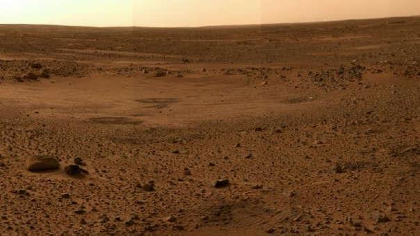 Los investigadores aseguran que todavía sigue habiendo pequeñas cantidades de vapor de agua en la atmósfera de Marte.