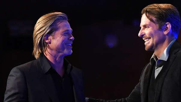 Brad Pitt contó que Bradley Cooper lo había ayudado a superar el alcoholismo.