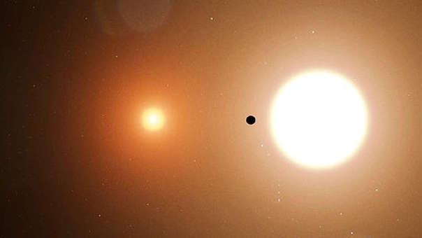Planeta con dos soles