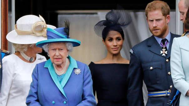Reina Isabel II se reunirá con los duques de Sussex