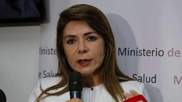 La ministra Elizabeth Hinostroza destacó los avances de su gestión.