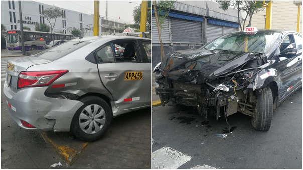 Accidente en Cercado de Lima