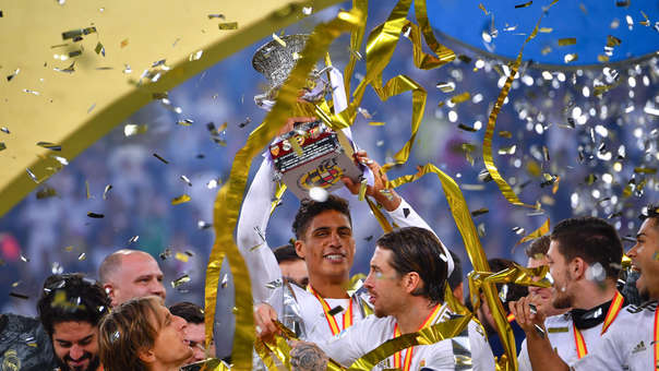 SUPERCUP-REAL MADRID-ATLETICO