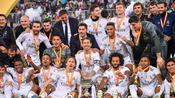 Real Madrid ganó 4-1 en la tanda de penales al Atlético de Madrid