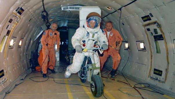 Una motocicleta eléctrica estuvo muy cerca de reemplazar un rover lunar.