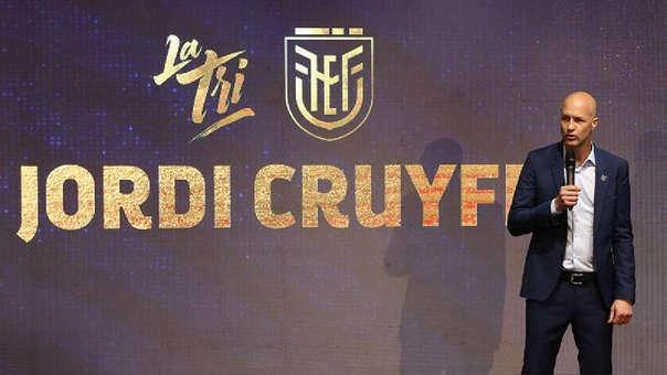 Jordi Cruyff fue nombrado técnico de la Selección de Ecuador