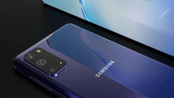 Samsung Galaxy S20 render