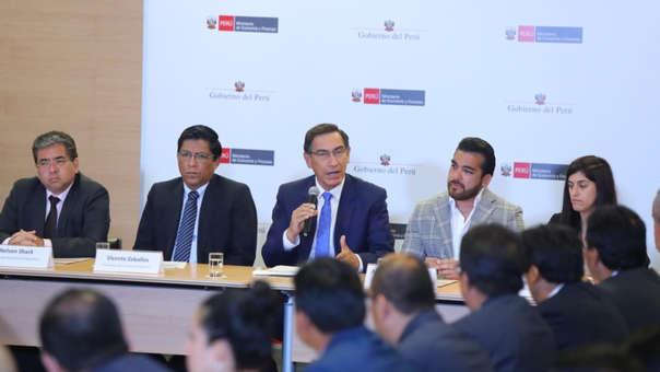 El objetivo de ejecución del presupuesto de este año debe superar el 80%, indicó Vizcarra.