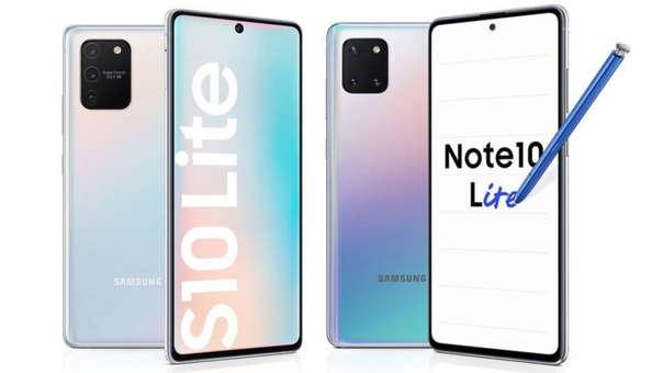 Samsung S10 Lite y Note 10 Lite