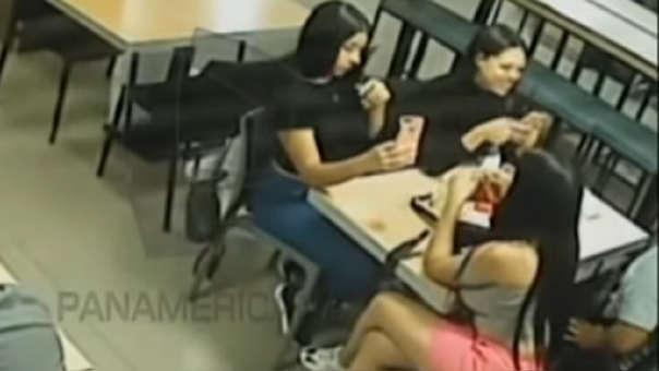 Estas son las mujeres que acompañaban a Isaac Hilario la noche en que lo asesinaron.