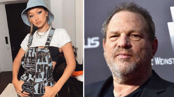 Gigi Hadid y Harvey Weinstein