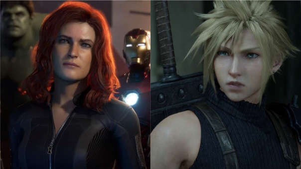 Marvel's Avengers y Final Fantasy VII Remake