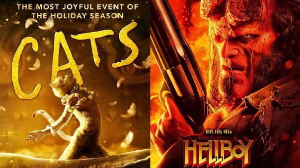 """""""Cats"""", """"Rambo"""" y """"Hellboy"""" son algunas de las cintas nominadas a los Premios Razzies 2020."""