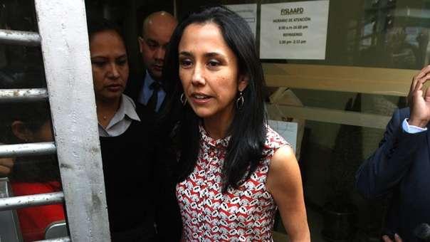 Nadine Heredia es investigada por el caso Gasoducto del Sur.