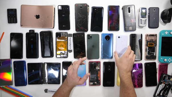 Este fue el resultado de un año de celulares puestos a prueba.