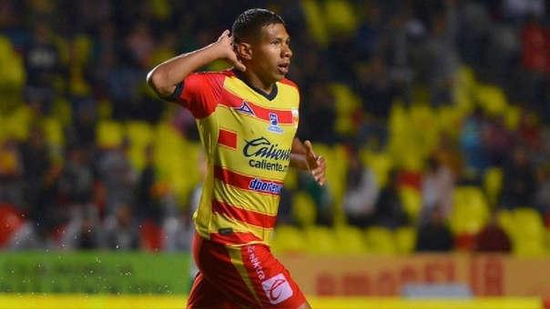 Edison Flores marcó 12 goles con Monarcas Morelia.