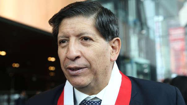 El magistrado Carlos Ramos fue el ponente en la demanda competencial.