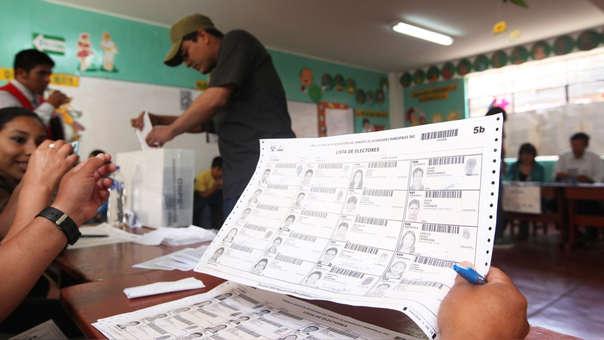 Elecciones congresales se realizarán el domingo 26 de enero.