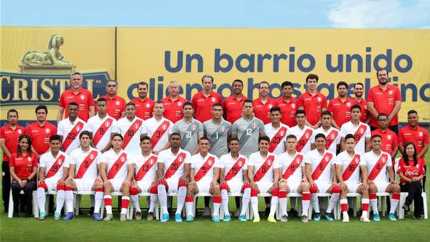 Selección Peruana Sub 23 que participará en el Preolímpico 2020.