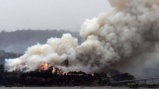 El humo de los incendios de Australia ha circunnavegado el planeta.