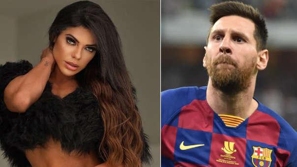 Lionel Messi: modelo brasileña se tatuó su cara en el vientre