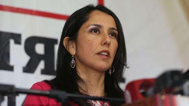 Nadine Heredia es investigada por el caso Gasoducto.