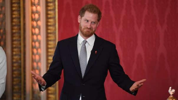 El duque de Sussex reapareció después de anunciar su distanciamiento de la familia real.